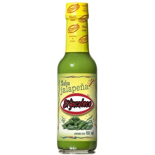 Jalapeno enyhén csípős chili szósz 150 ml -El Yucateco
