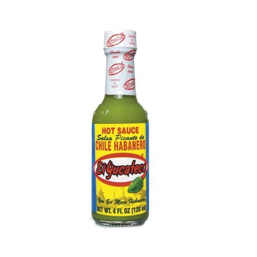 Zöld habanero chili szósz 120ml- El Yucateco