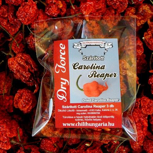 Carolina Reaper szárított chili paprika