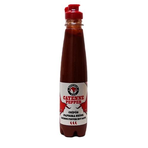 Cayenne enyhén csípős paprika szósz 250 ml-Buffalo Red