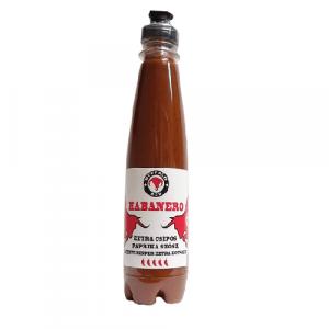 Habanero extra csípős paprika szósz