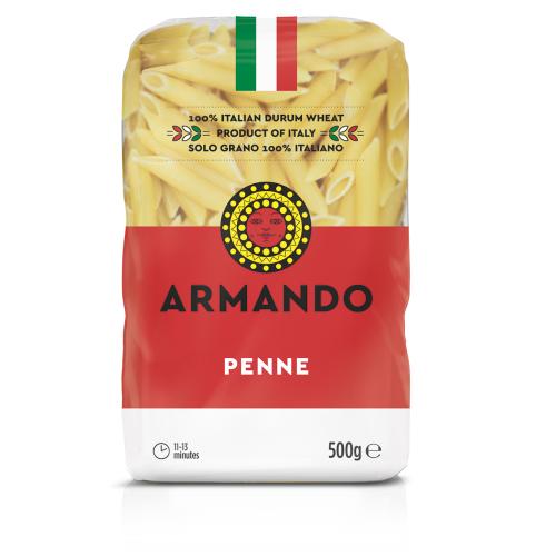 Penne olasz durumtészta 500g-Armando