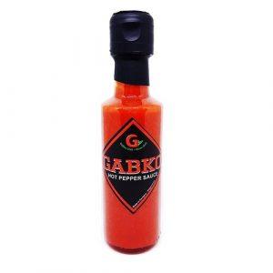 Hot pepper sauce red